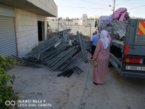 العمل الزراعي ينهي توزيع معدات زراعية في محافظة بيت لحم