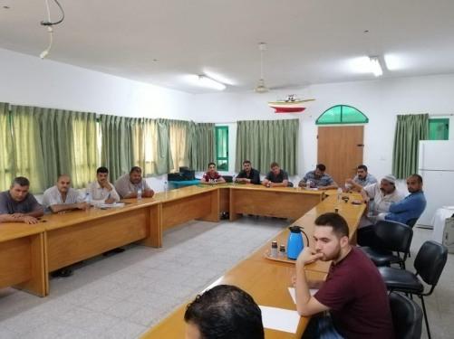 العمل الزراعي يعقد الإجتماع التأسيسي الأول لتشكيل  جمعية سنابل التعاونية لمربي الأبقار في قطاع غزة
