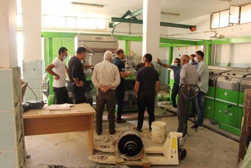 العمل الزراعي ينظم تدريب متخصص في مجال استدامة وتشغيل وصيانة معاصر الزيتون