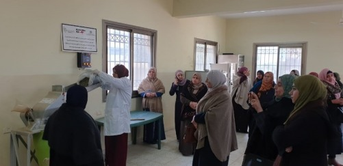 UAWC organizes an exchange visit for a group of cooperatives