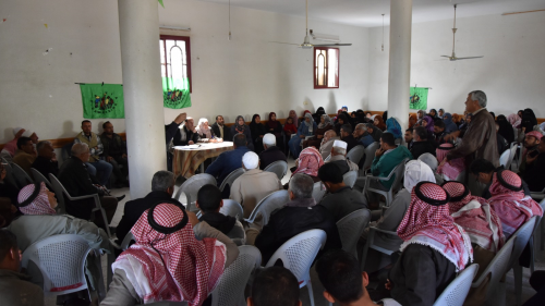 La Via Campesina Palestine commemorates the International Day of Peasants Struggles
