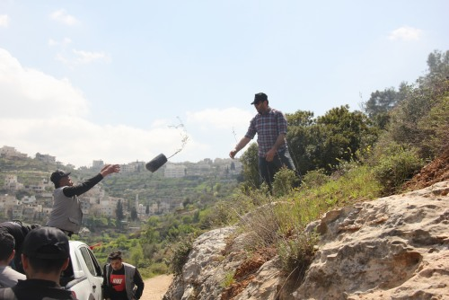 UAWC concludes Land Day events by planting 1000 trees in the West Bank