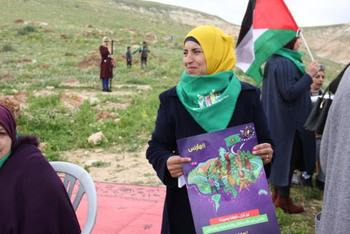 La Via Campesina Palestine and UAWC celebrate International Women's Day in the northern Jordan Valley