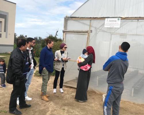 العمل الزراعي والمساعدات الشعبية النرويجية ينفذان زيارة ميدانية في جنوب قطاع غزة