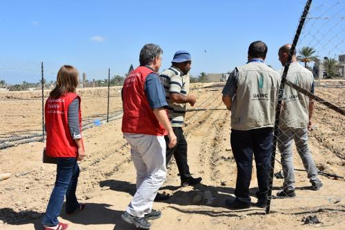 العمل الزراعي يتستقبل وفدا من الوكالة الاسبانية للتعاون الانمائي (AECID)