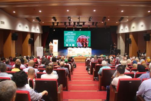 اختتام مؤتمر الحركات الاجتماعية الدولي الثاني