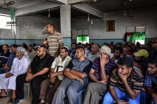 اللجنة الزراعية في منطقة مصبح تعقد اجتماعا موسعا للمزارعين ومربي الأغنام