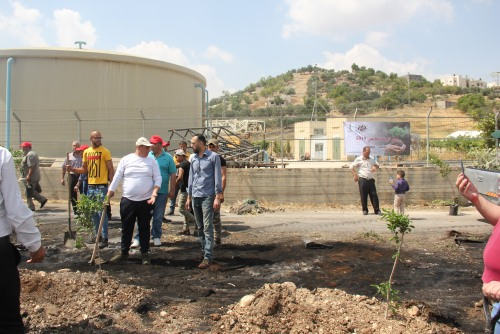 UAWC celebrates World Environment Day by cleaning up a landfill posing a health hazard for thousands of citizens