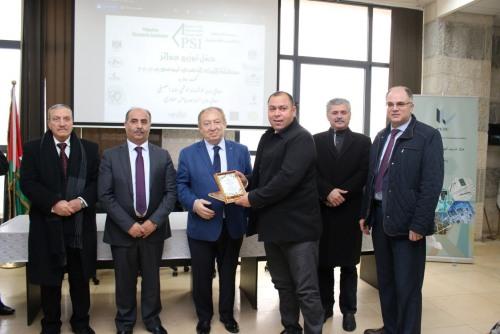 المواصفات والمقاييس الفلسطينية تكرم أعضاء الفريق الوطني لتذوق زيت الزيتون