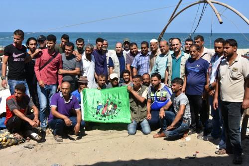 العمل الزراعي بغزة ينفذ جولة ميدانية تضامنية مع صيادي خانيونس