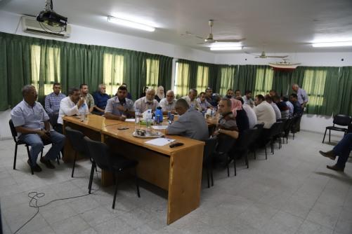 العمل الزراعي بغزة يعقد ورشة توعوية حول أثر المبيدات الزراعية على الصحة والبيئة