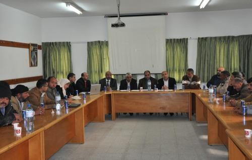 العمل الزراعي يعقد جلسة حوارية مع مربي الأبقار في قطاع غزة