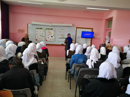 The Union of Agricultural Work Committees (UAWC) hosts a series of lectures about the local seed bank