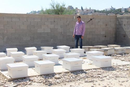 العمل الزراعي يختتم تنفيذ المرحلة الأولى من مشروع التمكين  الاقتصادي للشباب الفلسطيني