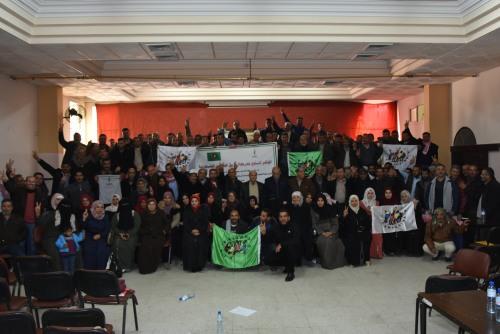 حركة طريق الفلاحين الفلسطينية بغزة تعقد مؤتمرها السنوي لعام 2019
