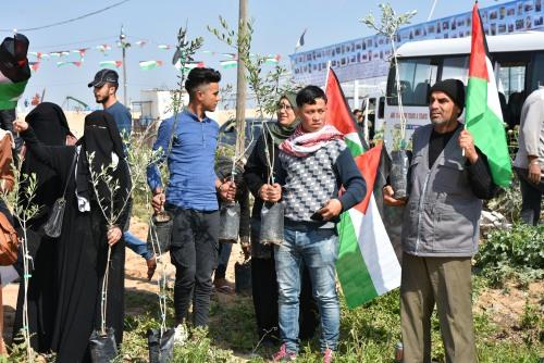 العمل الزراعي في غزة يبدأ سلسلة فعاليات أسبوع الأرض والمياه