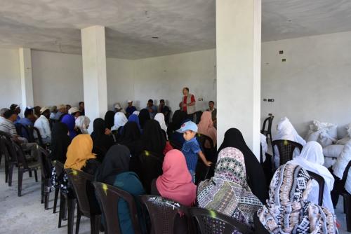 اللجنة الزراعية في وادي السلقا تنظم لقاء موسعا للمزارعين ومربي الأغنام