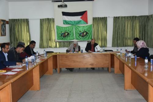 غزة- الهيئة التنفيذية المنتخبة لحركة طريق الفلاحين الفلسطينية تعقد اجتماعها الأول