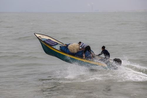 العمل الزراعي يرصد 12 انتهاكا من قبل قوات الاحتلال بحق الصيادين خلال فبراير 2021