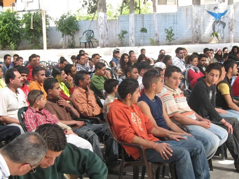 اتحاد لجان العمل الزراعي يحتفل بيوم الارض في قرية صفا غرب رام الله