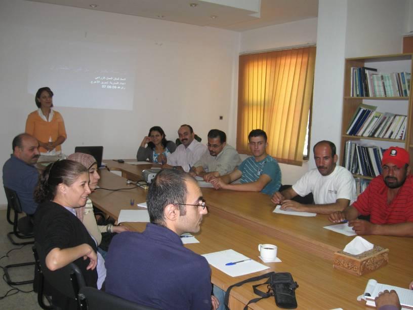 ورشة عمل للجان الزراعية وموظفي الاتحاد حول تطور الوعي الجندري